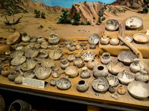 The Geronimo Springs Museum had a very wide variety of exhibits, including a large collection of historical pots dating back 1,000+ years
