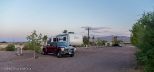 Newbury Mountain RV Park - a basic but quiet place in the desert