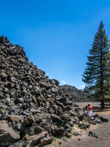 The edge of the Fantastic Lava Beds