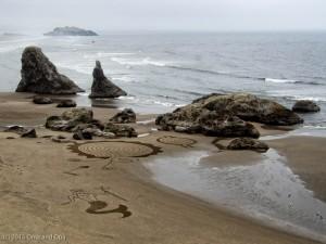 More sand art