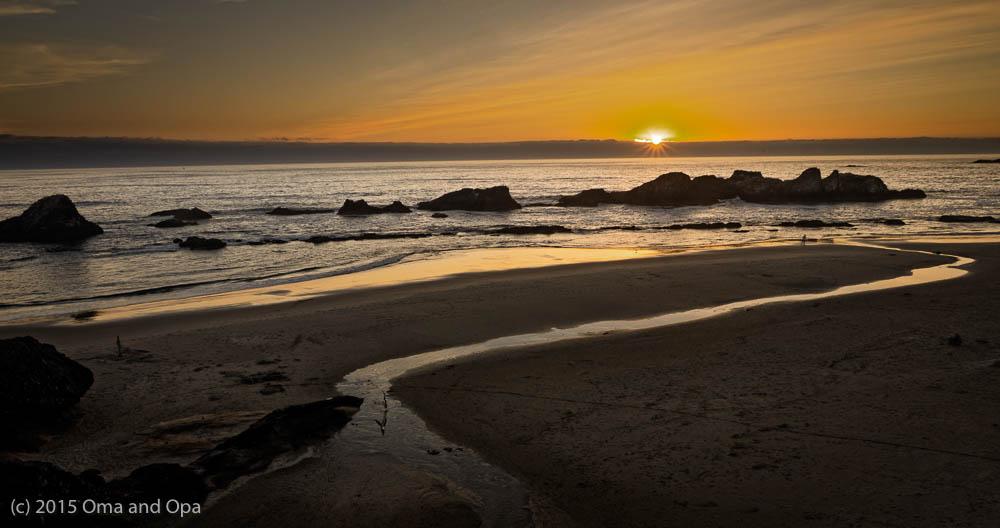 Ho hum. Just another beautiful Oregon coast sunset