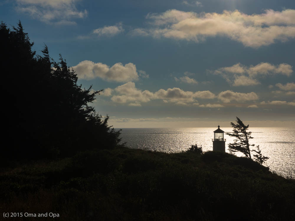 North Head Lighthouse, one of the two lighthouses at Cape Disappointment