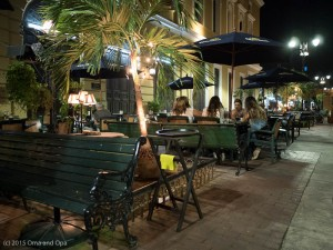 We really enjoyed the outdoor dining opportunities throughout our trip