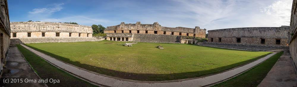 Panorama of the Nunnery Quadrangle