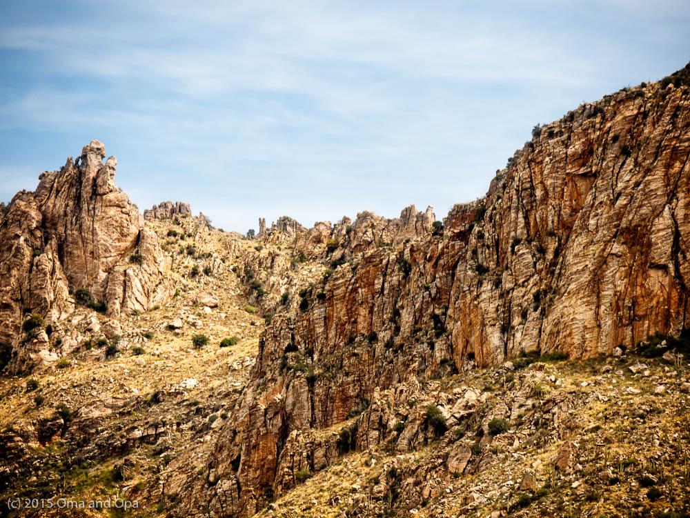 Walls of Sabino Canyon