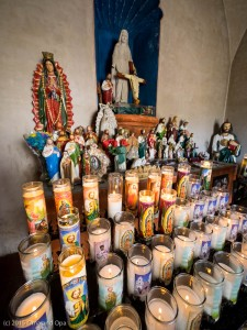 Candles in the Mortuary Chapel