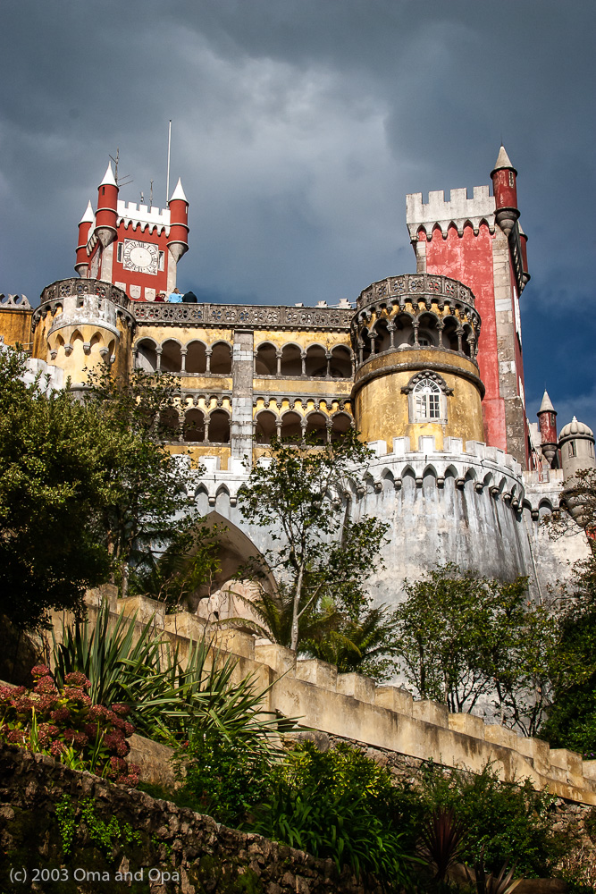 The Pena Palace in Sintra