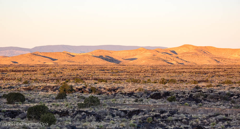 Valley of Fires and Three Rivers Petroglyphs – February 2018