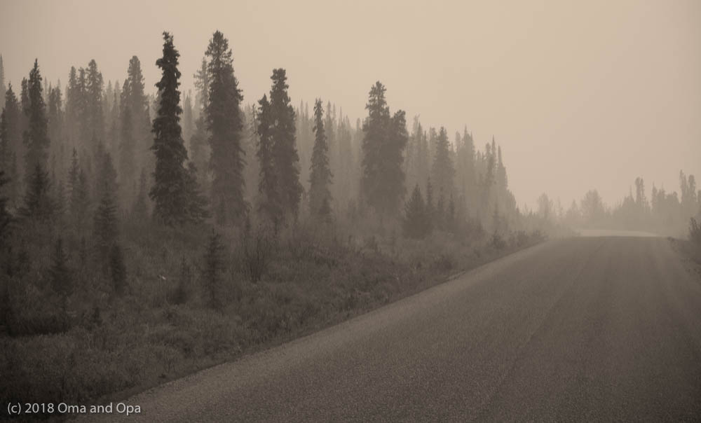 Down the Smokey Cassier Highway – August 2018