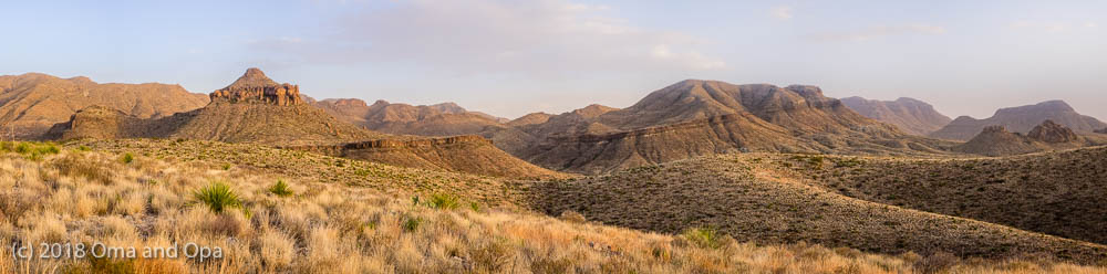 Big Bend or Bust – January 2018