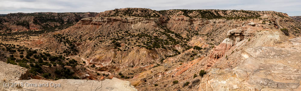 Heading to Palo Duro Canyon State Park – March 2018
