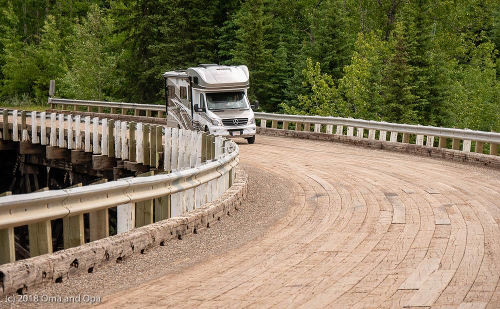 Dawson Creek to Buckinghorse River (Alaska Highway miles 0-171) – June 2018
