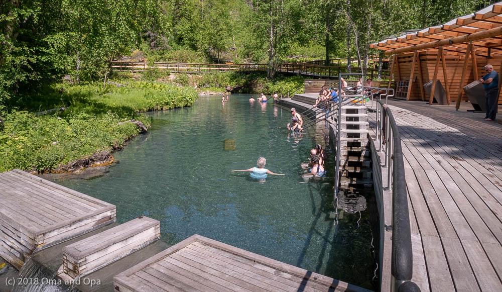 Liard Hot Springs and Provincial Park (Alaska Highway miles 432-471) – June 2018